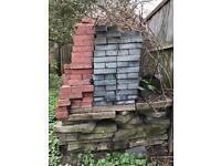Bricks and slabs assortment