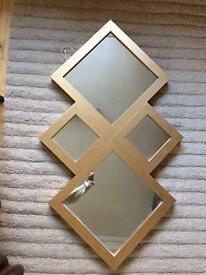 Reduced! Gorgeous Gold mirror