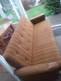 Vintage sofa bed. Fair condition.