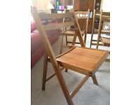 4 Ikea folding chairs - good condition