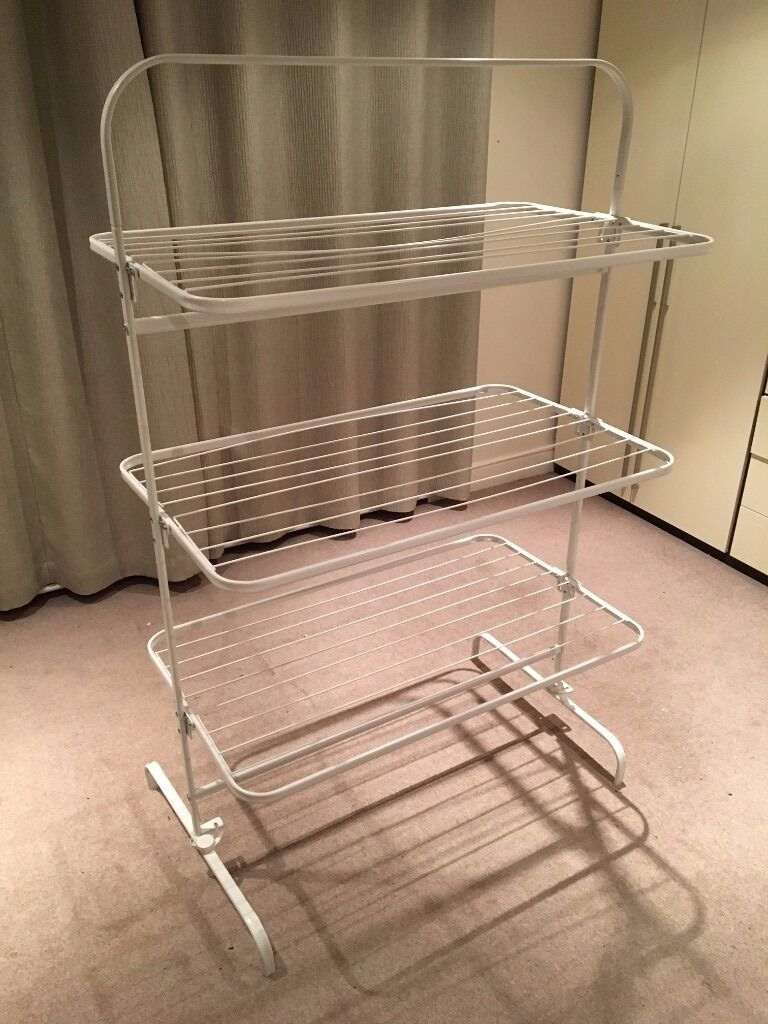 ikea mulig 3 level clothes drying rack in east london london gumtree. Black Bedroom Furniture Sets. Home Design Ideas