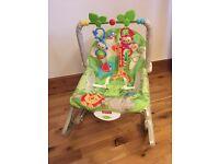 Fisher Price Rainforest Infant Toddler Rocker