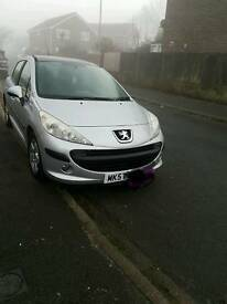 Peugeot 207 1.4 16v SE silver panoramic roof