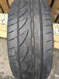 225 40 18 Bridgestone Potenza Tyre 6mm Tread
