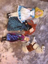 Official Disney Store princesses