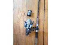 Fishing Rod 8'6'' with reel light weight
