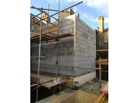 All construction works, indoor/outdoor