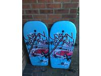 For sale 2 body boards