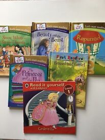 Selection of early reader books