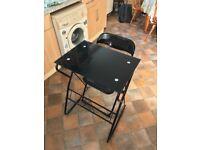 Glass Desk & Chair