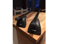 Thule roof bars Renault + fixing points