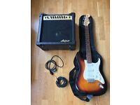 Electric guitar with amp and case to collect from Shoreditch, London