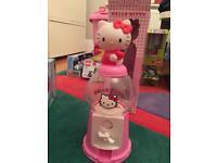 Hello Kitty Gumball candy machine dispenser