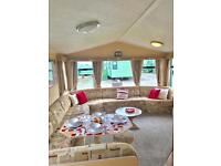 Stunning starter caravan with double glazing and central heating