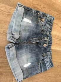 Girls Denim Shorts - Age 8 - From Next