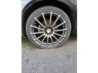 "Aftermarket multi fit 18"" alloys"