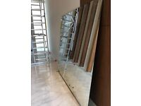 Large high quality Mirror - 6mm thick, 186cm x 180cm