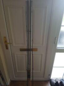 2x wychwood agitator deadbait rods