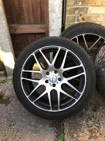Calibra alloy wheels 20 inch very good condition