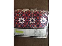 100% Original Gul Ahmed King size pure cotton beautiful bed set 4 pillows sheet and quilt cover