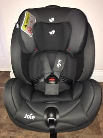 Joie stages rear facing car seat 0-7yrs unused
