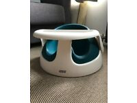 Mama's and Papa's Bumbo Baby Snug Baby Seat with Detachable Tray retails for 50quid