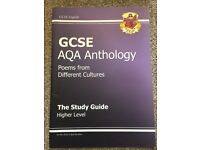 GCSE AQA Anthology Study Guide Revision Book