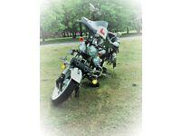 2007 Jinlun 125cc Custom Cruiser Motorbike.