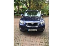 Low mileage Santa Fe, Service History, Manual, 5 seats, Tow bar