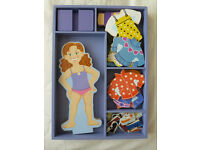 MELISSA AND DOUG MAGNETIC DRESS-UP DOLL