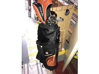 Brand new full set of golf clubs