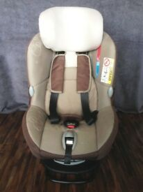 Maxi-Cosi MiloFix Car Seat for baby then converts for toddler. Walnut Brown Colour