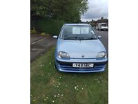 Fiat seicento, mot until feb 2018