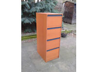 Filing Cabinet Drawer Unit Freestanding Storage Office Bedroom Organizer FREE LOCAL DELIVERY