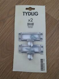 Ikea Tydlig library card style drawer handles