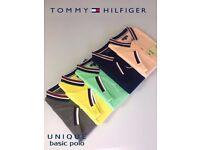 New Mens Tommy Hilfiger Unique Basic Polo Shirt Various Sizes/Colours