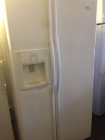 White American fridge freezer..Cheap Free delivery