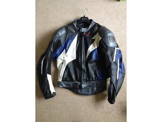 Motorbike leathers 2 piece