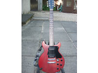 Gibson Les Paul Special Double Cut, Faded Red, P90 Pickups £400