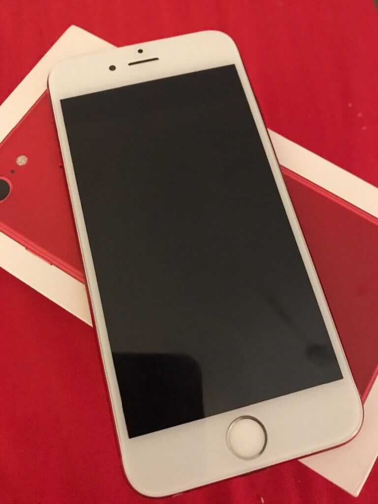 more photos 73d7a 4c8fc Custom made RED iPhone 6s.. Like new.. Perfect condition. Box, charger and  earphones included. | in Renfrew, Renfrewshire | Gumtree