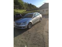 Mercedes c class immaculate condition full service history 4 door saloon petrol 1.8 compressor