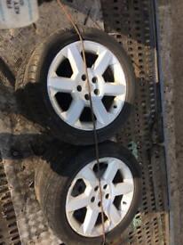 Vauxhall wheels 17