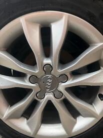 "Audi A3 wheels 17"" good condition"