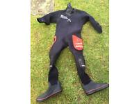 Northern Diver Drysuit - small