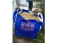 Full bag Sharp sand jumbo bag
