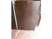 Office brown cabinet with shelves (Delivery)