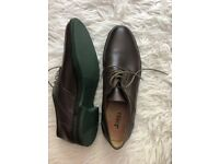 Classic Oxford Shoes - Brown