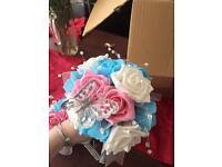 Wedding flowers An head bands