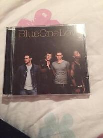 Blue one love cd album