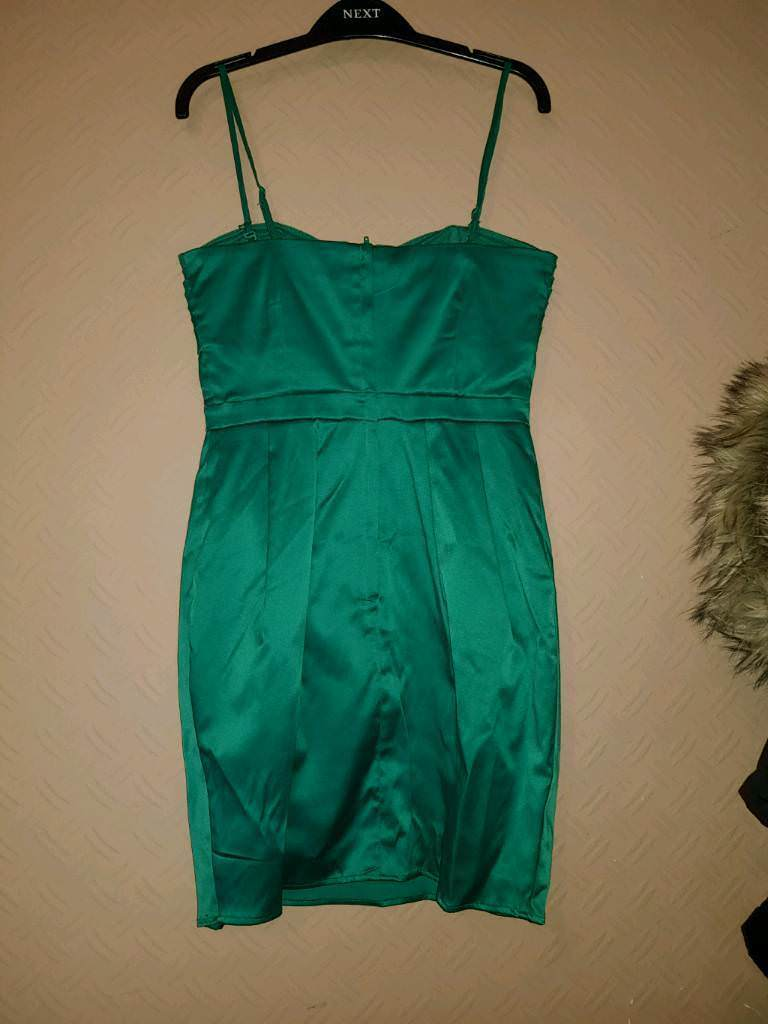 H&M green dress with tag | in Wembley, London | Gumtree